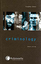 CRIMINOLOGY by Stephen Jones 2nd ed, 2001 very good condition