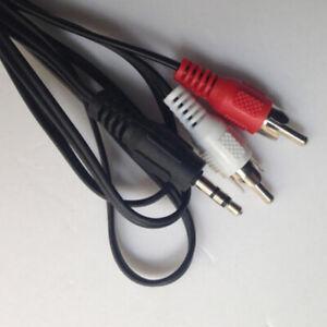 KM-Jack-Headphone-Mini-Plug-To-2-RCA-Male-Stereo-Audio-Speaker-Adapter-Cable