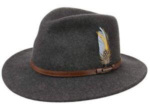 Grigio Newberg tendenza © Cappello lana Stetson Nuova Vitafelt 100Lana Cappello di Cappello 8nOmNwv0
