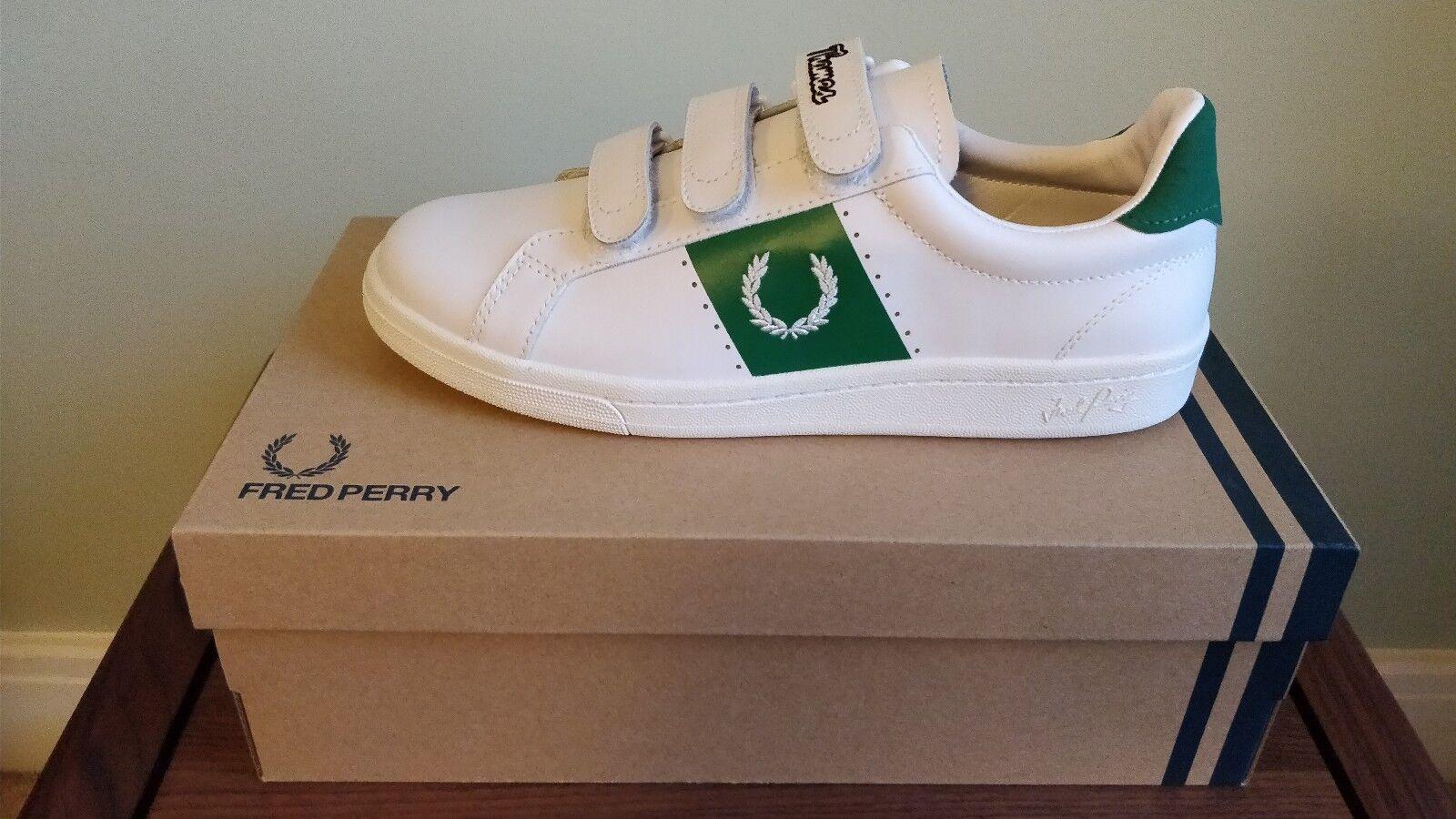 Para hombres Cuero Frojo Perry B721 Thames Zapatos, blancoo, Talla