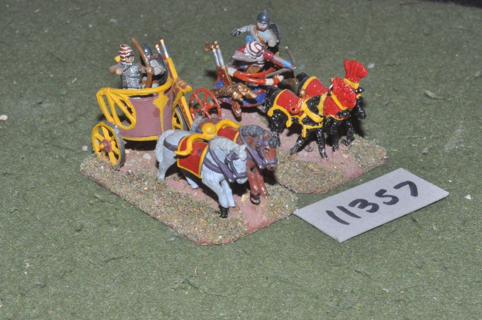 25mm biblical   egyptian - chariots 2 chariots - chariot (11357)