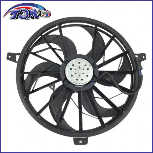 Brand New Radiator Cooling Fan Assembly For Jeep Grand Cherokee Liberty