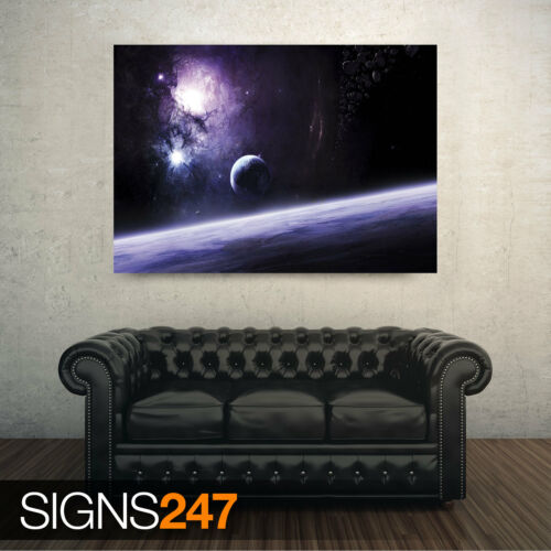 Space Photo Picture Poster Print Art A0 A1 A2 A3 A4 SPACE POWER 3117
