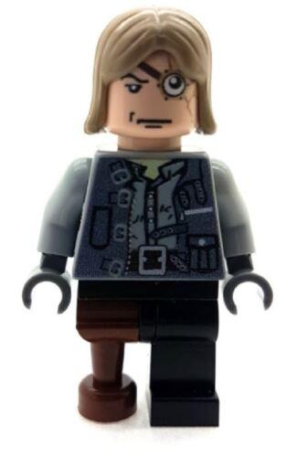Custom Designed Minifigure Mad Eye Moody Printed On LEGO Parts