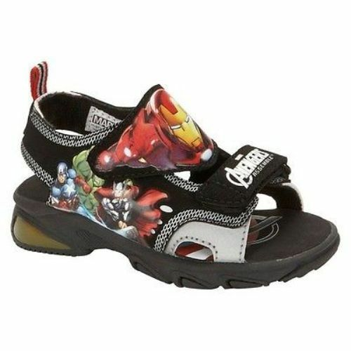 Marvel The Avengers Non-Light Up Sandals Shoes Toddler Boy Size 11