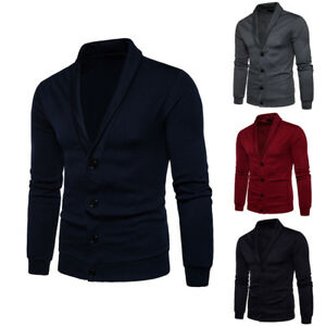 Men-Casual-Sweater-Slim-Fit-Long-Sleeve-Knitted-Cardigan-Trench-Coat-Jacket-Suit
