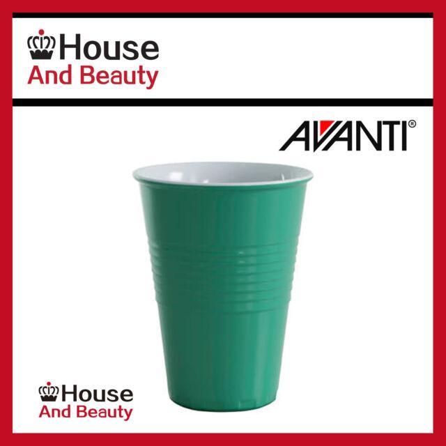 4 x avanti miami melamine 400ml two tone cup forest green code