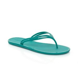 dfdc0fa796dcc Image is loading Lacoste-Ladies-Promenade-Aqua-Green-Flip-Flips-Thongs-