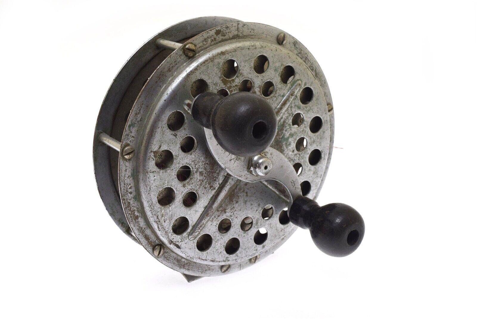 Vintage Pflueger Pakron Fishing Reel 3180 Deep Sea Fishing Reel 6.25