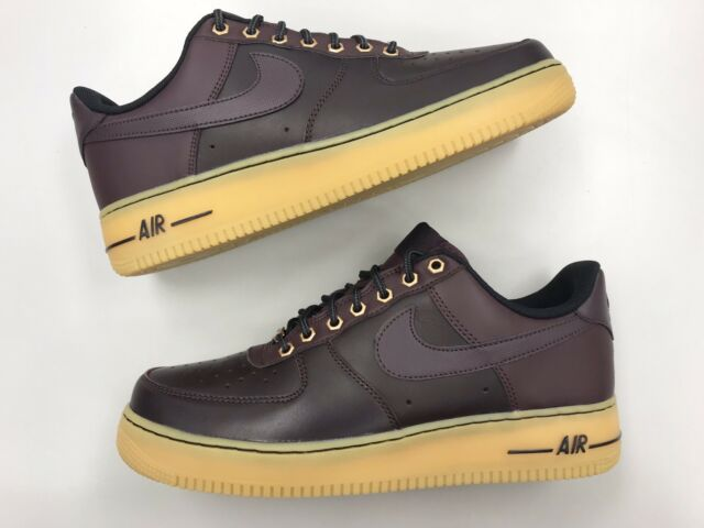 0f174fed7f36 Brand New Men Nike Air Force 1 Low Brown Gum Sz 10 Leather