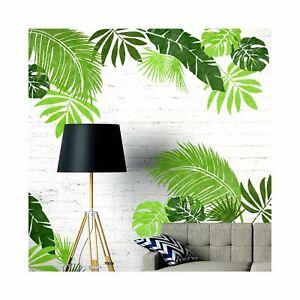 Jungle Leaf Set Plant Tropical Wall Floor Furniture