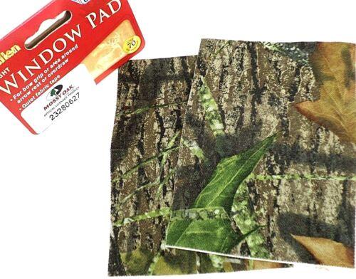 Allen vue fenêtre Pad adhésif tissu ruban Mossy Oak 4 X 6 Paquet de 2 Patins #155