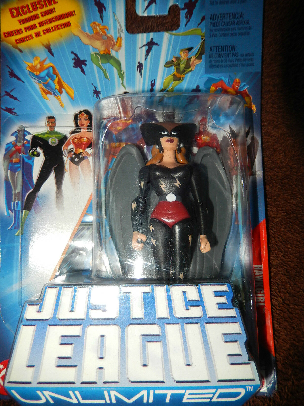 DC Justice League Unlimited Hawkgirl