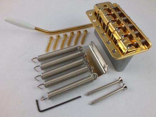GOTOH GE101T Gold Tremolo Brücke 5.6cm 56mm Voll Zink Block Für STRATOCASTER