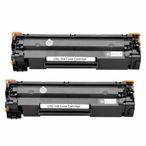 2Pk-FX10-Toner-Cartridge-For-Canon-104-FX9-ImageClass-MF4350D-D420-D480-MF4150
