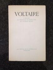 VOLTAIRE - L'INGÈNU. LA PRINCESSE DE BABYLONE. LE TAUREAU BLANC - Skira 1944