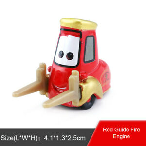Disney-Pixar-Cars-2-Red-Guido-Fire-Engine-Rescue-Squad-Diecast-Toy-Model-Car-New