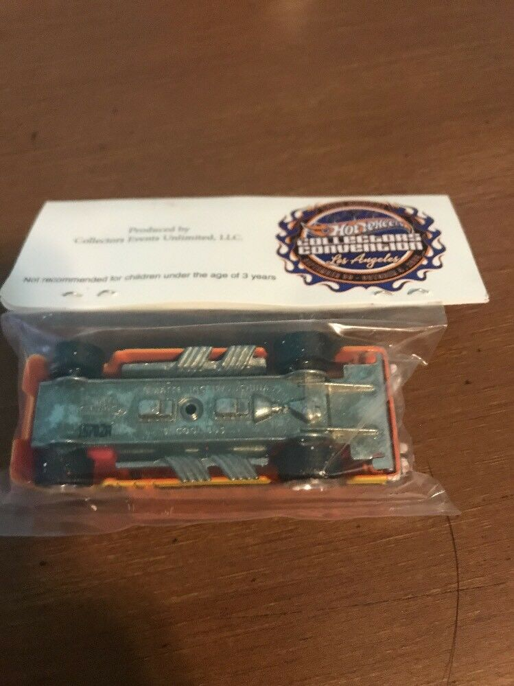 2009 Hot Wheels 23rd 23rd 23rd Collectors Convention orange S'Cool Bus Make A Wish 8d9d32