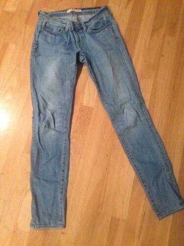 Jeans Skinny Light Leg Sz 26 Wash Brand Low J rise 910 FZYFSO