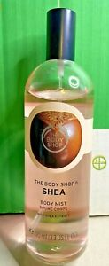 The Body Shop-Body Mist-Shea-Brume Corps-Smell Refreshingly Nutty-Vegan-100ml
