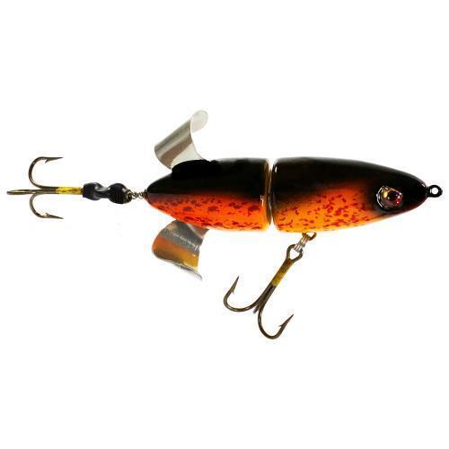 "Canadian Crush Phantom Freak Loud Churning 8/"" Pike Musky Topwater Fishing Lure"