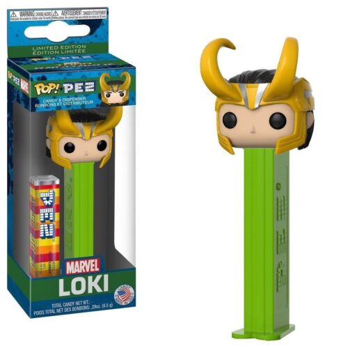 Dispenser Limited Edition Pez Marvel Thor Ragnarok Loki Candy Funko Pop!