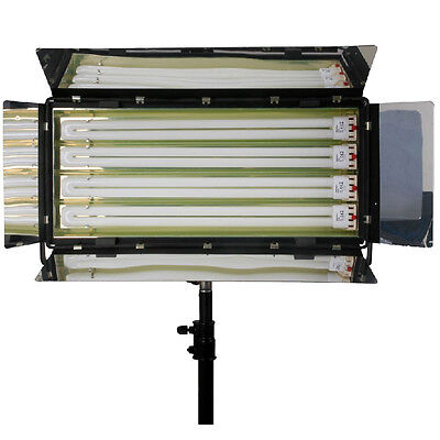 1100W Pro Fluorescent Light 4 Bank Continuous Lighting DayLight osram tube NEW