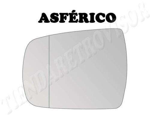 CRISTAL RETROVISOR KIA SORENTO 2009-2012 ASFERICO