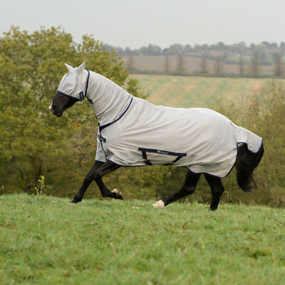 Brioso Bucas Freedom Fly Sheet Full Neck-silver-