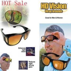 276b9c245e Image is loading Night-Day-Vision-Wraparound-Sunglasses-Yellow-and-Black-