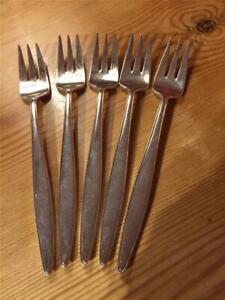 6-X-Vintage-Elkington-amp-Co-Forks-Silver-Plate-EPNS-17-5cm