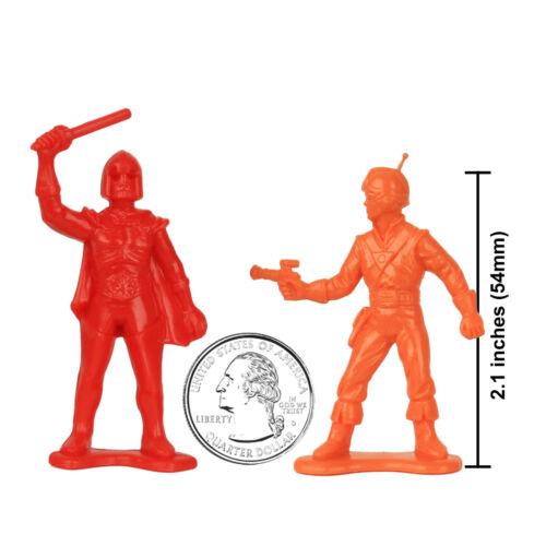 50 Tim Mee STAR PATROL Space Figures TimMee Processed Plastic GALAXY LASER TEAM