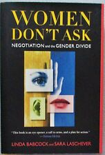 SIGNED Women Don't Ask Negotiation and the Gender Divide Linda Babcock HC LN