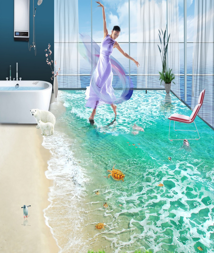 3D Water shell  565 Floor WallPaper Murals Wall Wall Wall Print Decal 5D AJ WALLPAPER 163e56