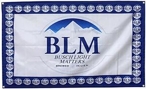 Busch Latte BLM Bier Flagge buschhhhhh Bud Budweiser 3x5ft Banner