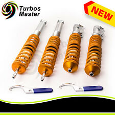 4PCs Coilovers Kit for VW Jetta MK2 Golf MK2 MK3 Hatchback MK4 Cabriolet
