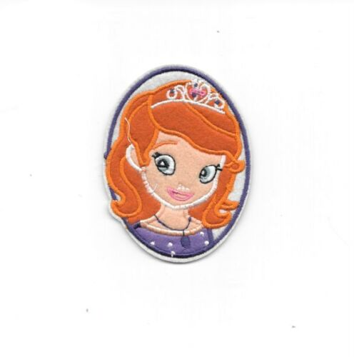 PRINCESS SOFIA PORTRAIT Disney Iron on Patches//Sew On//Applique//Embroidered