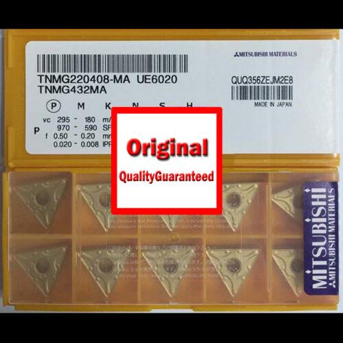 New MITSUBISHI CNC Blade TNMG220408-MA UE6020 TNMG432MA Carbide Insert 10PCS//BOX