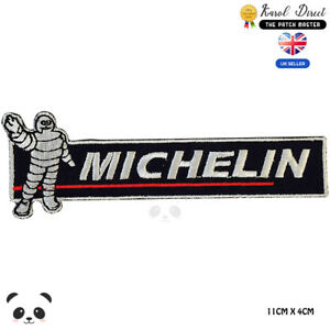 Michelin-Racing-Embroidered-Iron-On-Sew-On-Patch-Badge-For-Clothes-etc