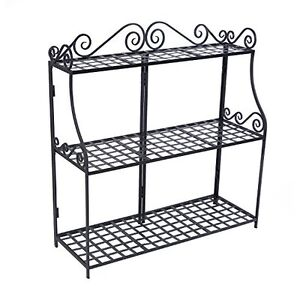 Captivating Image Is Loading Panacea 3 Tier Stand Plant Flower Metal Planter