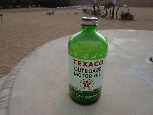 VINTAGE RARE TEXACO OUTBOARD MOTOR OIL