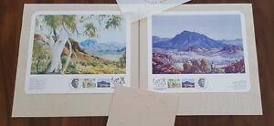 Land and Spirit Albert Namatjira First Day Stamps