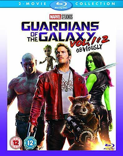 Guardians Of The Galaxy Vols 1 and 2 [Blu-ray] [2017] [Region Free] [DVD]