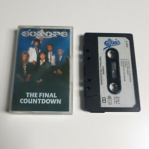 EUROPE-THE-FINAL-COUNTDOWN-CASSETTE-TAPE-1986-PAPER-LABEL-EPIC-CBS-UK