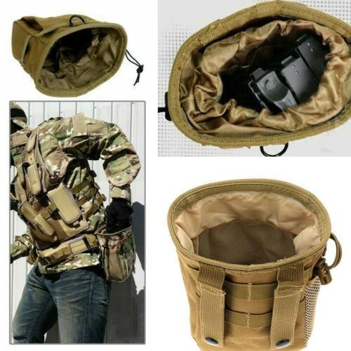 Tactical Magazine Utility Drop Dump Pouch Molle Military Bag Heavy NEW Ammo F1A3