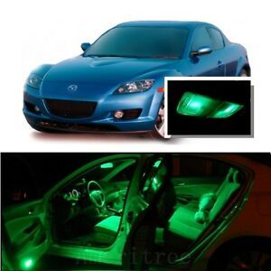 Image Is Loading For Mazda RX8 2004 2014 Green LED Interior