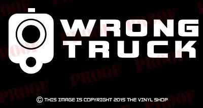 Smile Wait For Flash Gun Barrel Vinyl Decal