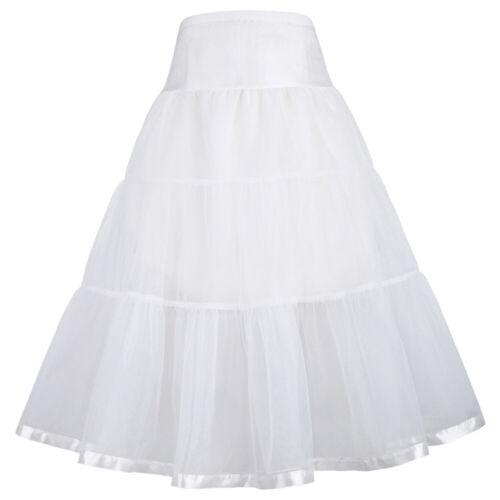 Kinder Petticoat Mädchen Hochzeit Vintage Unterrock Zwei Lagen Ball Kleid Swing