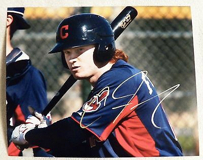 Cleveland Indians Clint Frazier Signed 8x10 Photo Auto