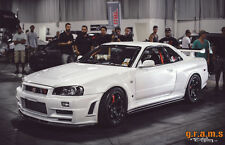 Nissan Skyline R34 Z-tune Style Front Wings Fenders for WideBody Racing Drift V6